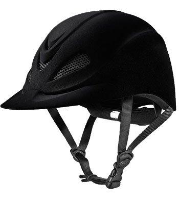Troxel Capriole Velvet Flock Helmet, Large (Velvet Helmet)