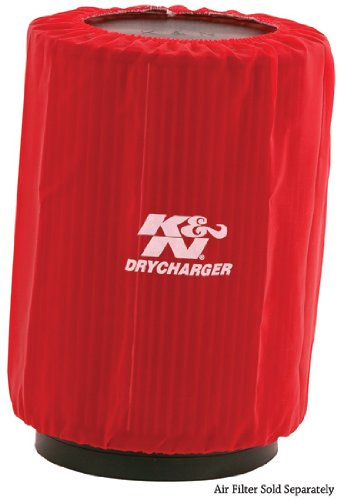 K&N RU-3270DR Red Drycharger Air Filter Wrap