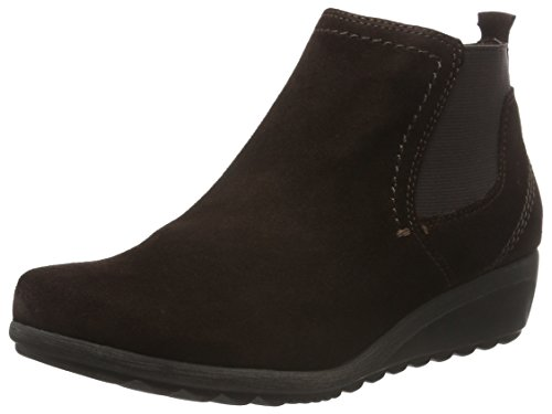 358 Suede Brown Boots Jana WoMen Mocca Slouch 25429 fwxZq8B