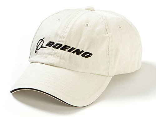 Boeing - Chino Bill Hat (Stone) Aviation Cap