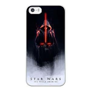 star war S3W5AJ1A Caso funda iPhone 5 5s Caso funda del teléfono celular blanco