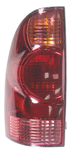 Lamp Parking Assembly 1969 - Taillight Taillamp Rear Brake Light Driver Side Left LH for 05-08 Tacoma Truck