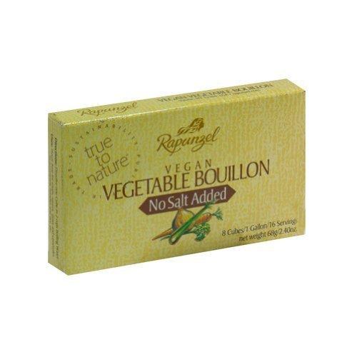 Rapunzel USA Organic Vegetable Bouillon - No Salt, 2.4 Ounce -- 12 per case. by Rapunzel USA