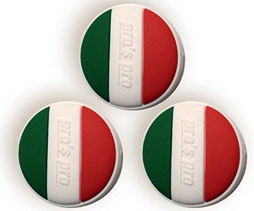 Tennis Dampener Bandiera nazionale Italia Antivibrazioni Pro H070i