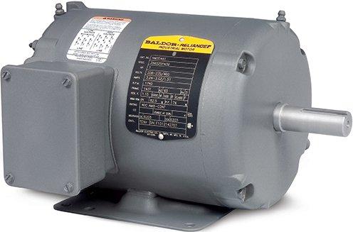 Baldor Electric Company AOM3710T - Blower/Fan Motor - 3 ph, 7-1/2 hp, 1800 rpm, 208-230/460 V, 213T Frame, TEAO Enclosure, 60 Hz