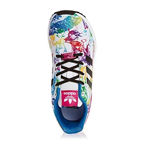 Adidas Zx Flux - Zapatillas para Bebés BLANCO NEGRO ROSA