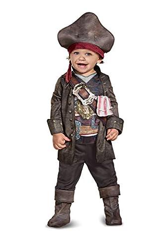 Disney POTC5 Captain Jack Sparrow Classic Infant Costume, Multicolor, 12-18 Months