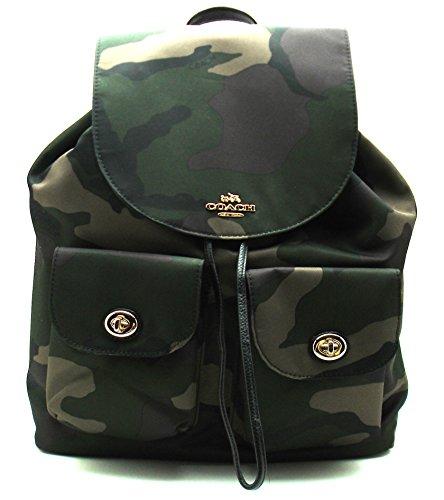 Coach Camo Nylon Backpack - Coach Camo