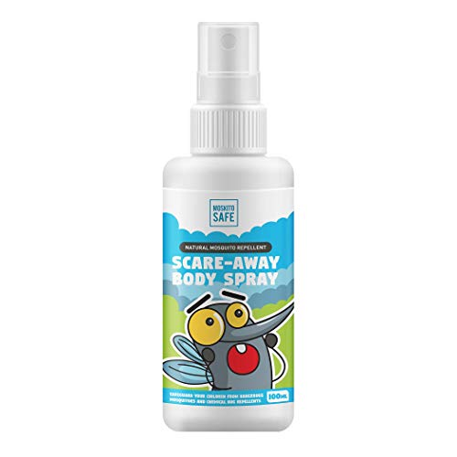 Moskito Safe Alcohol and Deet Free Natural Mosquito Repellent Spray – 100ml