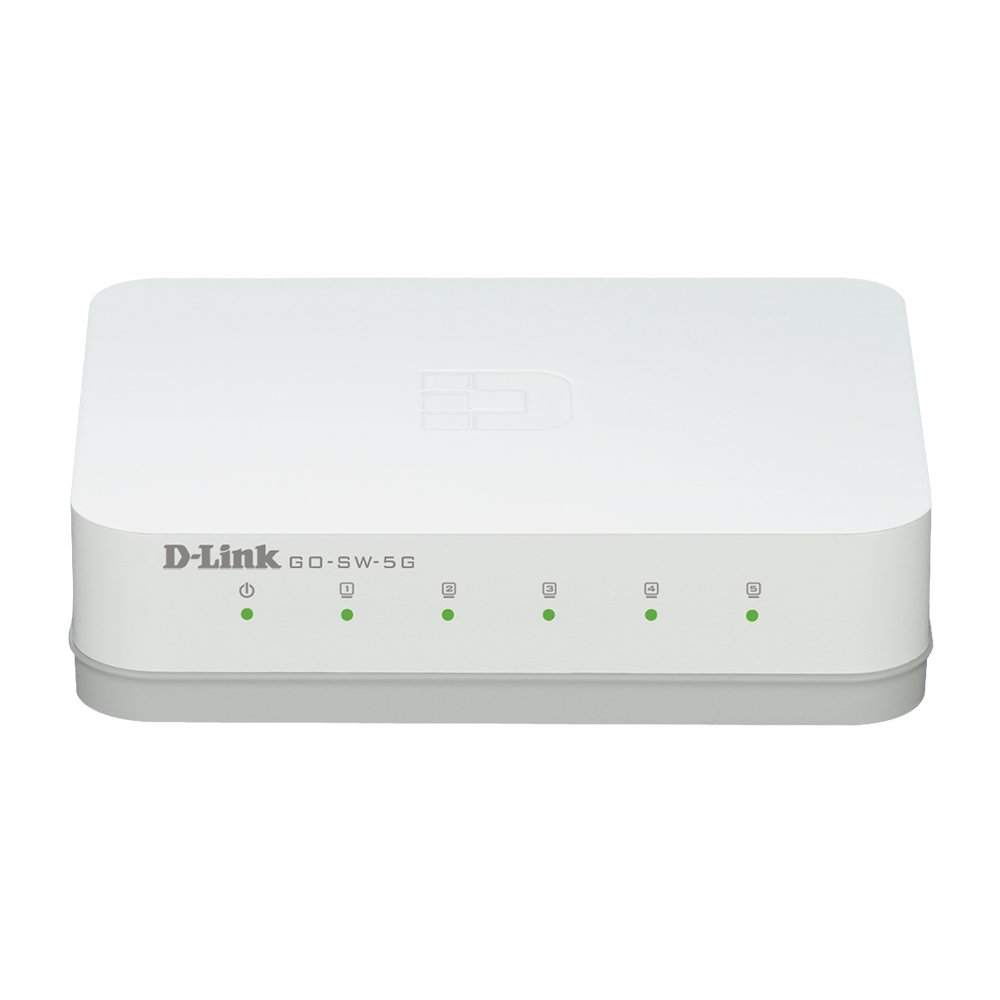 D-Link 5-Port Unmanaged Gigabit Switch (GO-SW-5G) by D-Link (Image #1)