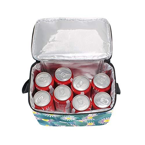 Niños Para Las Multi4 De Bolsa Aislamiento Mujeres Almuerzo Refrigerador Cerdo Con De Fiambrera Los Flora Grande Mano Bolso 6RCnq