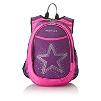 Obersee Kid's All-in-One Pre-School Backpacks with Integrated Cooler, Rhinestone Star