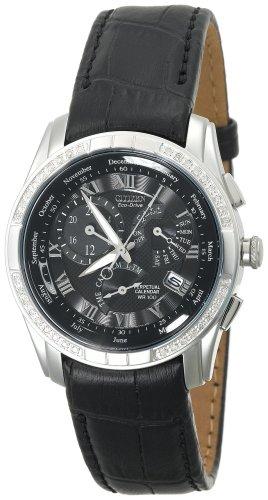 Citizen Men's BL8040-09E Eco-Drive Calibre 8700 Leather Strap Watch