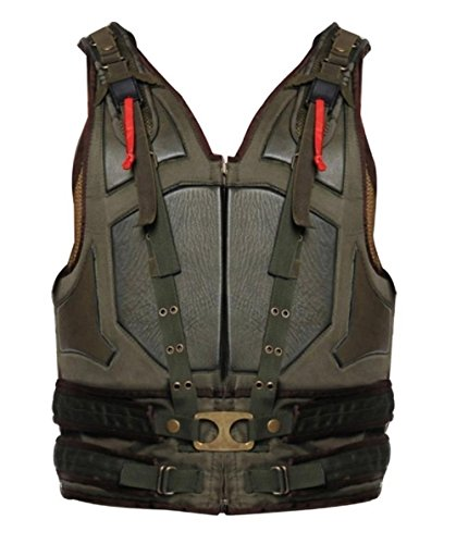 Fashion Avenue Batman Bane Faux Leather Motorcycle Vest (The Dark Knight Rises) - Vest Leather Avenue