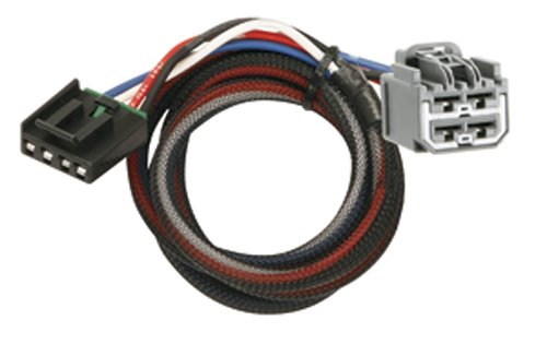 Durango Control - Tekonsha 3045 2-Plug Brake Control Wiring Adapter for Dodge/Jeep
