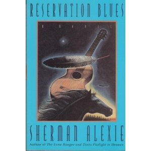 an analysis of reservation blues by sherman alexie The characters of alexie's acclaimed short fiction (the lone ranger and tonto fistfight in heaven)-thomas builds-the-fire, victor, junior, the habitues of the spokane indian reservation-return in this.
