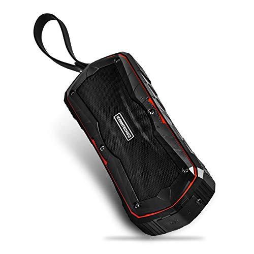 ICONNTECHS IT Altavoz Bluetooth Portátil para Exterior Ducha Agua Casa Altavoces Estéreo IPX6 Resistente al Agua 7 Horas