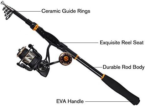 KastKing BlackHawk telescópicas cañas de pescar - Viajes Pesca ...