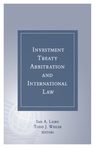 Investment Treaty Arbitration and International Law - Volume 3
