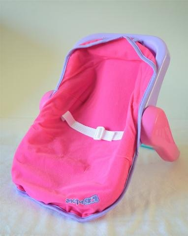 Doll Carrier & Car Seat- Baby Doll Therapy for People with Memory Loss from Aging and Caregivers