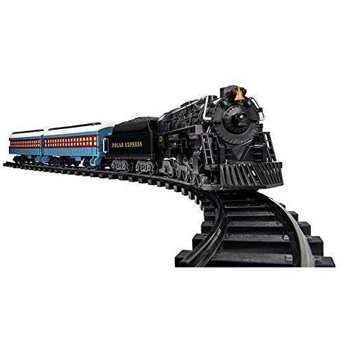 (Polar Express Detailed Ready-To-Play Battery Operated Remote Controlled Holiday Train Set)