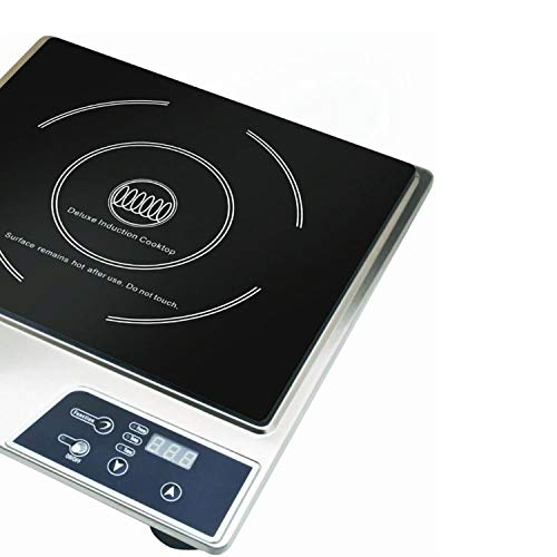 Max Burton Portable Stainless Steel Deluxe Countertop Induction Cooktop Burner (2 Pack) by Sunbeam (Image #3)