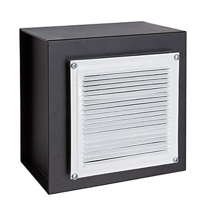 Arregui 13000W-S0 - Caja fuerte para empotrar camuflada detrás de una rejilla de ventilacion