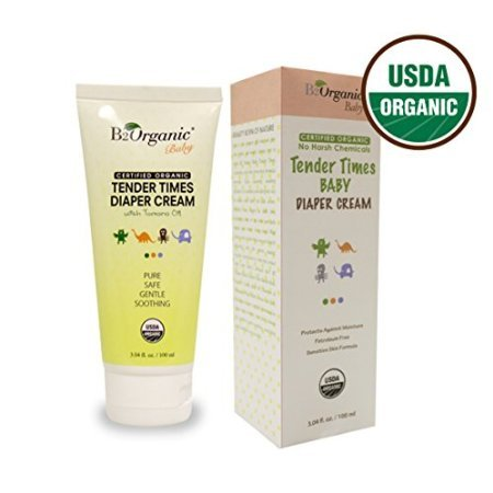 B2Organic Baby Diaper Cream - 3.04 fl oz. | 100 ml by CuteMch