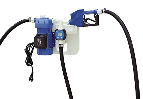 FUELWORKS Heavy Duty PRO Blue Electric Diesel Exhaust Fluid (DEF) UREA Pump Whole Set Package (Fuel Pump Fluid)