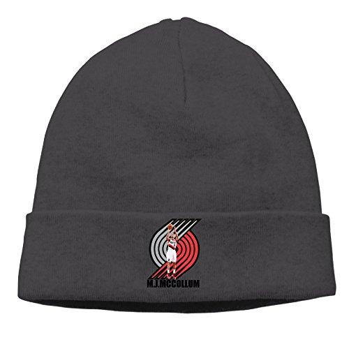 ewied-menswomens-cj-mccollum-patch-beanie-b-boyblack-hat-for-autumn-and-winter