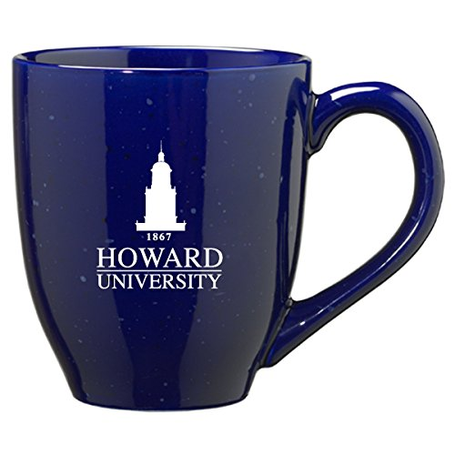 LXG, Inc. Howard University - 16-ounce Ceramic Coffee Mug - Blue