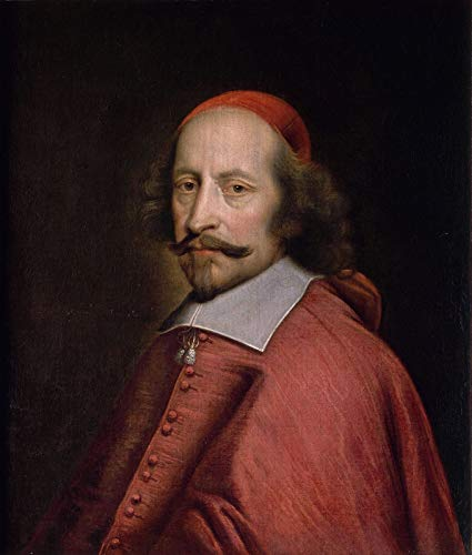 Pierre Mignard Portrait of Cardinal Jules Mazarin 1660 Musee Conde - Chantilly 30