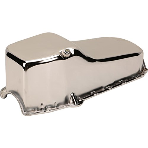 1955-79 Small Block Fits Chevy Chrome Oil Pans Chevy Chrome Oil Pan