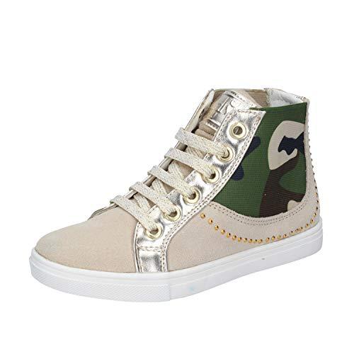 DIDI BLU Fashion-Sneakers Baby-Girls Suede Beige 13-13.5 US