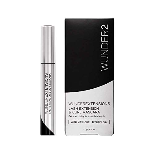 WUNDER2 Wunderextensions - Lash Extension & Curl Mascara | Cruelty Free Perfect Eyelash Curling Mascara, 0.35 fl. oz.