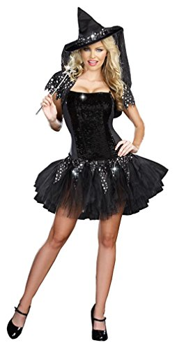 Starry Night Witch Costume - Small - Dress Size (Starry Night Witch Costume)