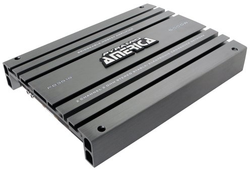 Pyramid PB3818 5,000-Watt 2-Channel Bridgeable Mosfet Amplifier (Buick Roadmaster Heating)
