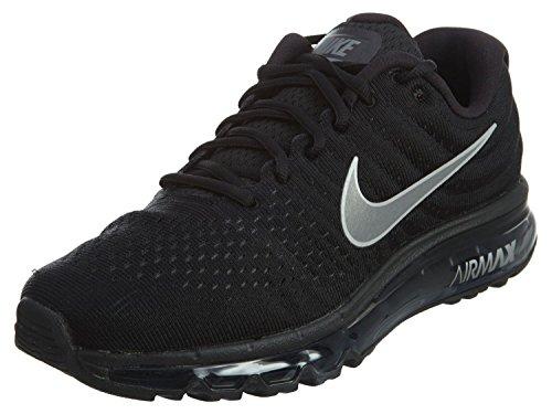Nike Men's Air Max 2017 Black/White/Anthracite Running Shoe 10 Men US