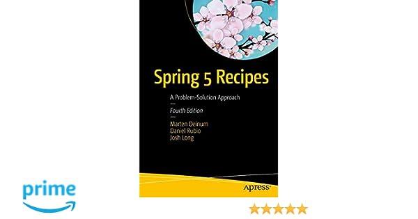 Apress Spring Recipes Pdf