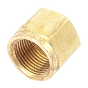 Forney 87733 Oxygen Regulator Repair Part, Inlet Nut, CGA-540