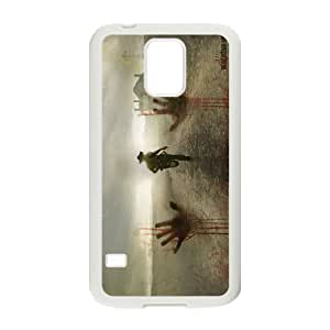 High Quality Phone Back Case Pattern Design 8Popular Movie the walking dead Design- For Samsung Galaxy S5