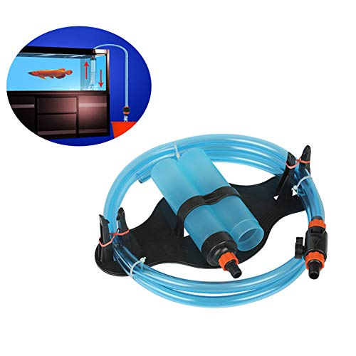 DJLOOKK Fish Tank Gravel Cleaner Aquarium Water Changer Sand Washer Water Pump Fish Tank Water Absorber Siphon Water Pipe Flushing Device Cleaning
