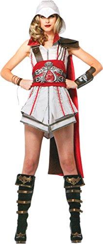 Assassin's Creed Costume Ideas (Leg Avenue Women's Assassin's Creed Ezio Adult, Large)