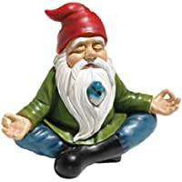Design Toscano Zen Garden Gnome Statue, 8 Inch,...