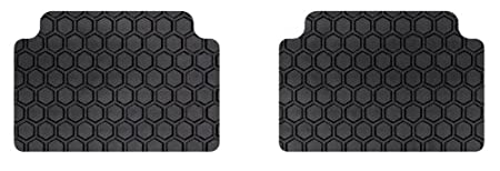Rubber-Like Compound Custom Fit Auto Floor Mats for Select Subaru Impreza//Outback Models Intro-Tech SB-178R-RT-G Hexomat Second Row 2 pc Gray