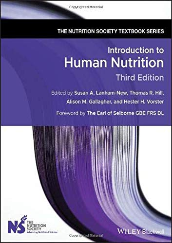 Introduction to Human Nutrition (Nutrition Society Textbook)