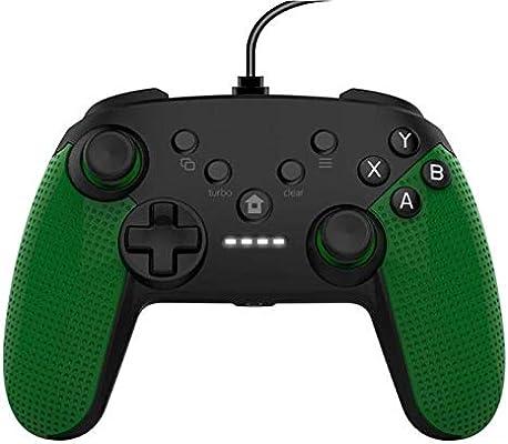 ZUEN Conexión De Cable USB Gamepad Dual Vibración Joystick Juego Mango para Microsoft Xbox One PC: Amazon.es: Deportes y aire libre