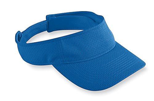 Augusta Sportswear Kids' Athletic MESH Visor OS Royal