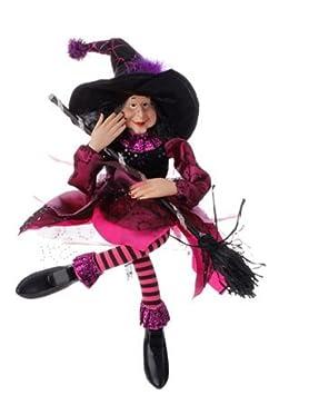 Halloween Decoration – 20 Sitting Witch Purple
