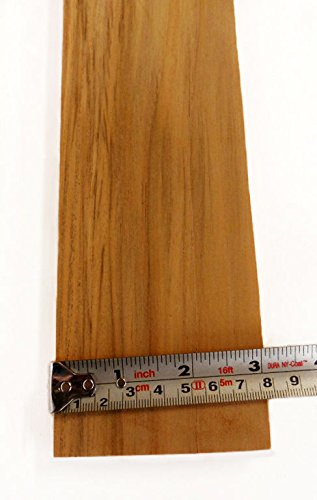 (5 pieces of PLANED + SANDED TEAK 3/8 x 3 x 24